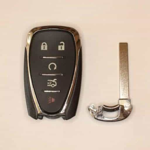 chevrolet key, Chevrolet Remote Control Smart Key